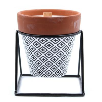 Aromaterapeutické Sójové Sviečky s Drevený Knôtom - Lavanduľa