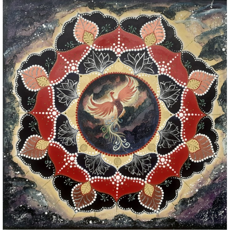 Mandala Fénix
