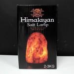 Himalájska Soľná Lampa s Podstavcom - 2-3kg