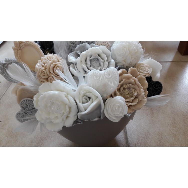 Mydlové kytice